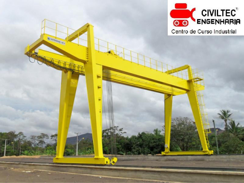 Curso de Ponte Rolante Nr Aldeia da Serra - Curso de Operador de Ponte Rolante
