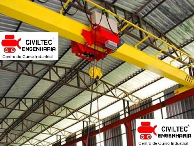 Curso de Ponte Rolante Operação Preços Vila Mercedes - Curso de Ponte Rolante Online