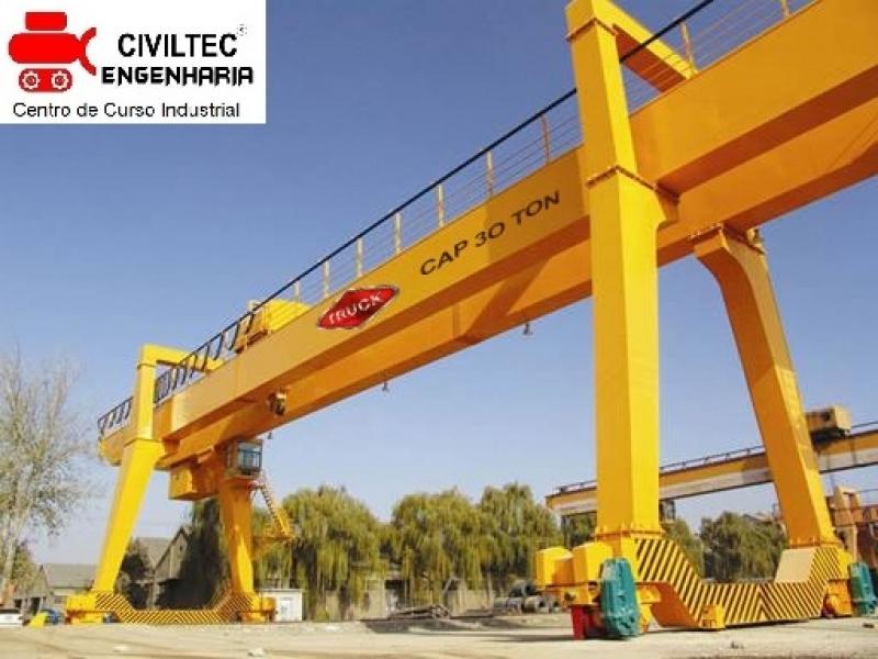 Curso para Ponte Rolante Preços Mairiporã - Curso de Ponte Rolante Online