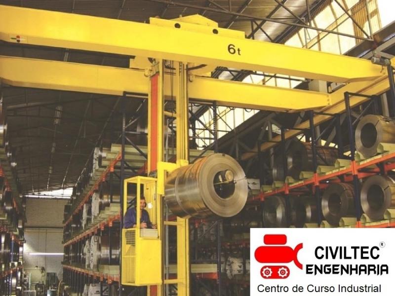 Curso Ponte Rolante Preços Metalúrgicos - Curso para Ponte Rolante