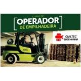 contato de empresa de curso de operação para empilhador Vila Fátima