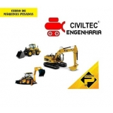contato de empresa de curso de operador de escavadeira Vila Progresso