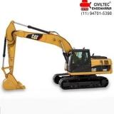 contato de empresa de curso escavadeira hidraulica Cidade Kemel