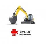curso de escavadeira hidráulica preços Torres Tibagy