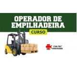curso de manobrador de empilhador preços Rio Pequeno