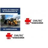 curso de operador de carregadeira preços CECAP