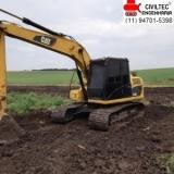 curso de operador de escavadeira Jardim DAbril