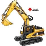 curso de operador escavadeira hidraulica valores Condomínio Veigas