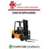 curso de operador para empilhadeira preço Jardim Paulista
