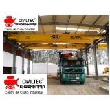 curso de ponte rolante operação orçamento Vila Dirce