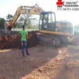 curso operador de escavadeira hidráulica Recreio São Jorge
