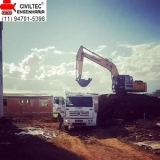 curso operador de mini escavadeira valores Barra Funda