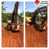 curso operador de mini escavadeira Taboão da Serra