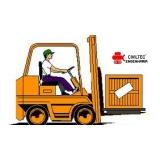 curso para empilhador de empilhadeira preço Osasco