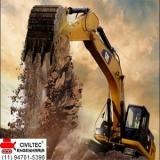 curso para escavadeira hidráulica valores Vila Maria