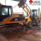 curso para escavadeira Vila Vermont