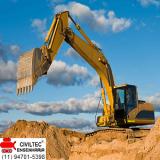 curso de operador de escavadeira