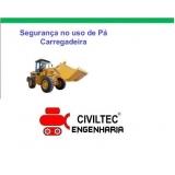 custo para curso operador de pá carregadeira Cabuçu de Cima