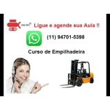 empresa de curso de empilhadeira glp Vila Vitória