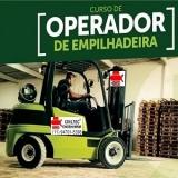 empresa de curso de empilhador de empilhadeira preços Jardim Gumercindo