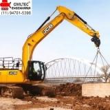 empresa de curso de escavadeira hidráulica preços Vila Madalena