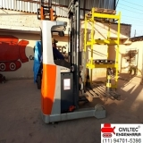 empresa de curso de manobrador de empilhador preços Monte Carmelo