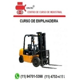 empresa de curso de manobrador de empilhador tel Vila Madalena