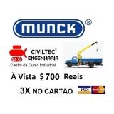 empresa de curso guindauto munck preços Parque Renato Maia