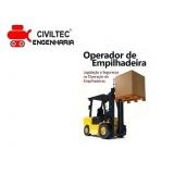 empresa de curso manobrador de empilhador tel Vila Quitaúna
