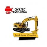 empresa de curso operador de mini escavadeira Santo Amaro