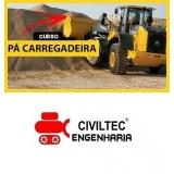 empresa de curso operador pa carregadeira São Bernardo do Campo