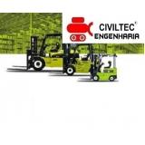 empresa de curso para empilhador de empilhadeira Vila Virgínia
