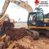 empresa de curso para operador de escavadeira Jardim Pedroso