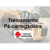 empresa de curso para pá carregadeira contato Condomínio Veigas