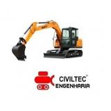empresa de curso de escavadeira hidráulica