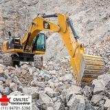 empresa de curso operador de escavadeira hidráulica