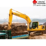 empresa de curso para escavadeira