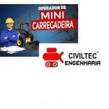 endereço de empresa de curso para mini carregadeira Cidade Dutra