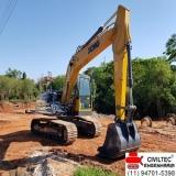 onde tem curso escavadeira hidraulica Alto da Lapa