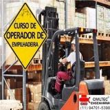qual o preço de curso para operador empilhadeira Jardim Ipanema
