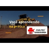 telefone de empresa de curso de operador de pá carregadeira Vila Sabrina
